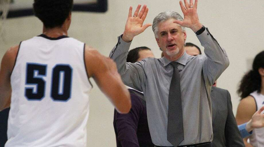 Cos Cob native and Sonoma State Seawolves head coach Pat Fuscaldo (Patty Boy) after winning his 300th game at Sonoma State against CSULA last weekend. Photo: Contributed