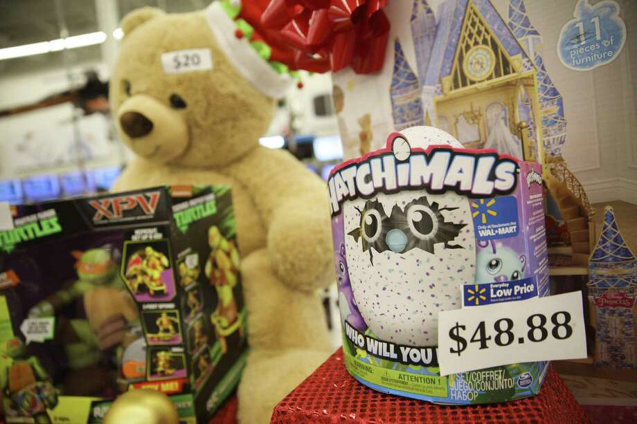 """Your guide to the Hatchimal PhenomenonWho made them?""""Hatchimals"""" are produced by Spin Masters, a Canadian toy company. You might recognize the name from their other popular playthings, including """"Air Hogs"""" and """"Bakugan."""" Recently, the company purchased the rights to the """"Etch A Sketch"""" and """"Doodle Sketch"""" brands. Photo: Patrick T. Fallon / Bloomberg / © 2016 Bloomberg Finance LP"""