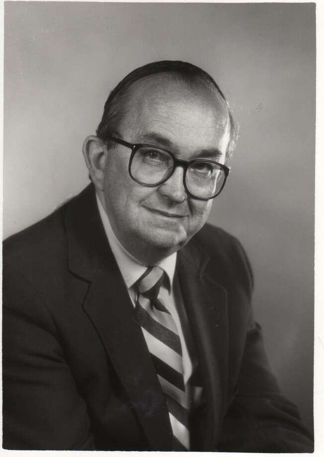Dick Gentry served as chair of Trinity's journalism, broadcasting and film department. Photo: Courtesy