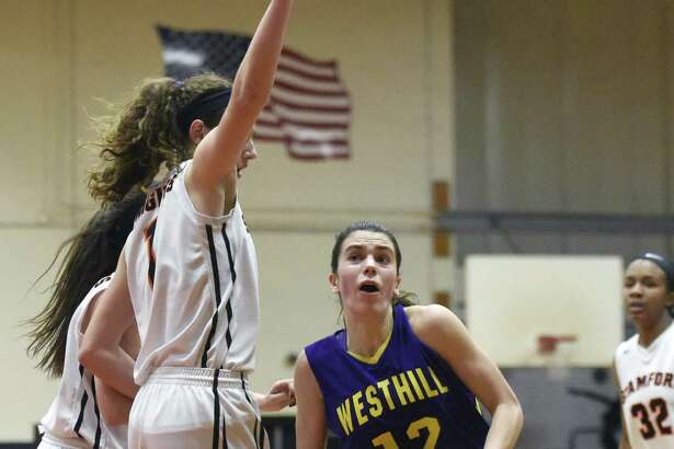 Westhill senior Olivia Wise (12) is a co-captain along with fellow senior Gabby Laccona on the Vikings' squad. Westhill graduated just two seniors and is looking to turn around a 6-12 record.