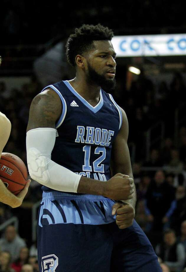 Hassan Martin, a 6-7 senior forward, leads Rhode Island with 16.1 points and 8.1 rebounds. Photo: Stew Milne, Associated Press / FR56276 AP