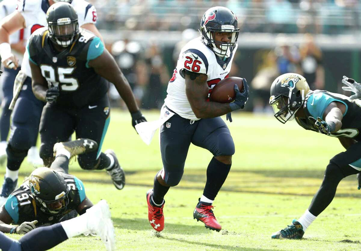 Running back Lamar Miller already has rushed for more yardage (903) through 12 games this season than all of last year (872) with the Dolphins.