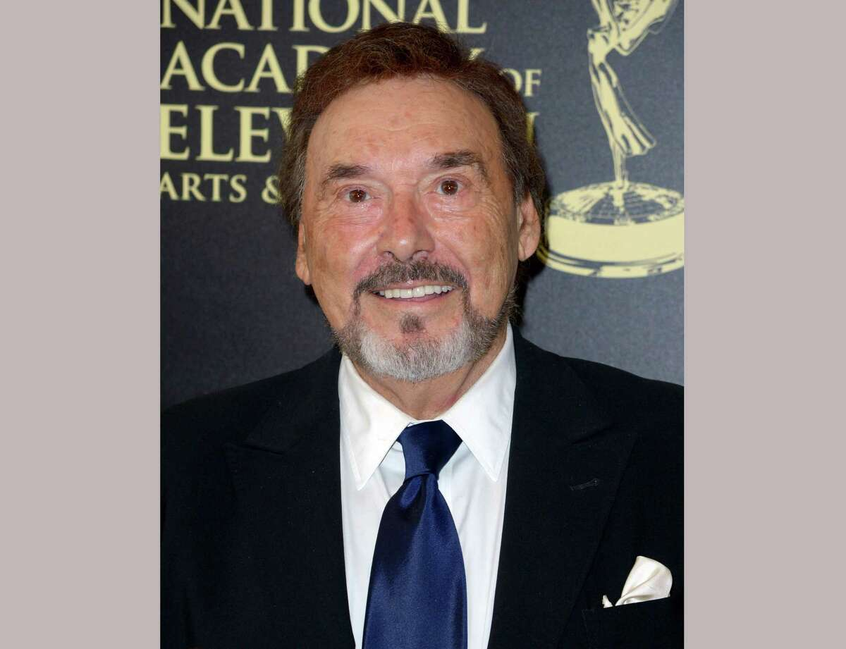 """FILE - This June 22, 2014 file photo shows actor Joseph Mascolo at the 41st annual Daytime Emmy Awards in Beverly Hills, Calif. Mascolo, an actor most well-known for his portrayal of the evil villain Stefano DiMera on NBCÂ?'s daytime drama Â?""""Days of our Lives,Â?"""" died, Wednesday, Dec. 8, 2016. He was 87. (Photo by Richard Shotwell/Invision/AP, File)"""