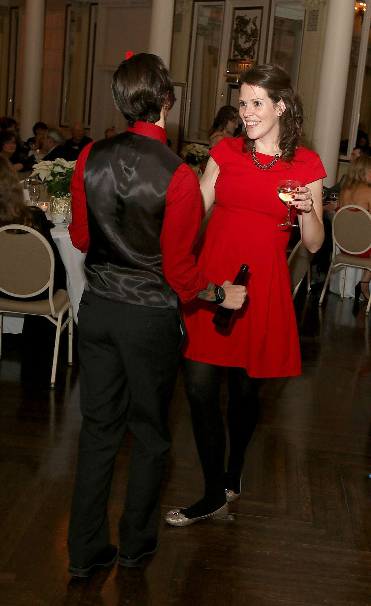 Were you Seen at theSaratoga Springs History Museum Holiday Gala on Friday, December 9, 2016 at theCanfield Casino in Saratoga Springs?