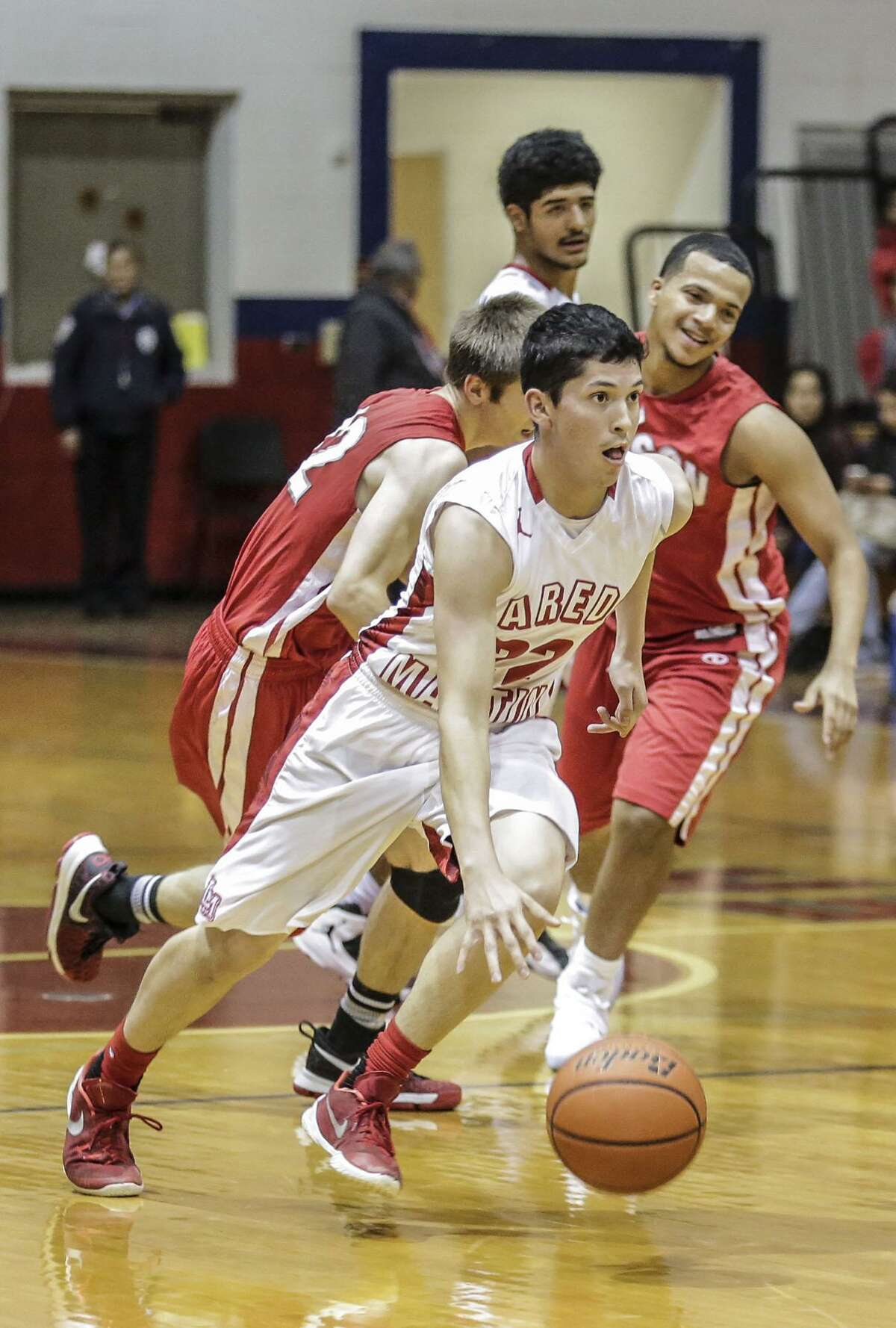 Martin's Kevin Zamora and the Tigers were outscored 21-7 in the final six minutes of the game.