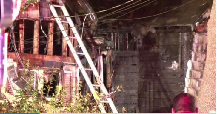 A 17-year-old girl died and her mother was injured when fire swept through a home in about 12:30 a.m. Saturday, Dec. 10, 2016, in Pasadena. (Metro Video)