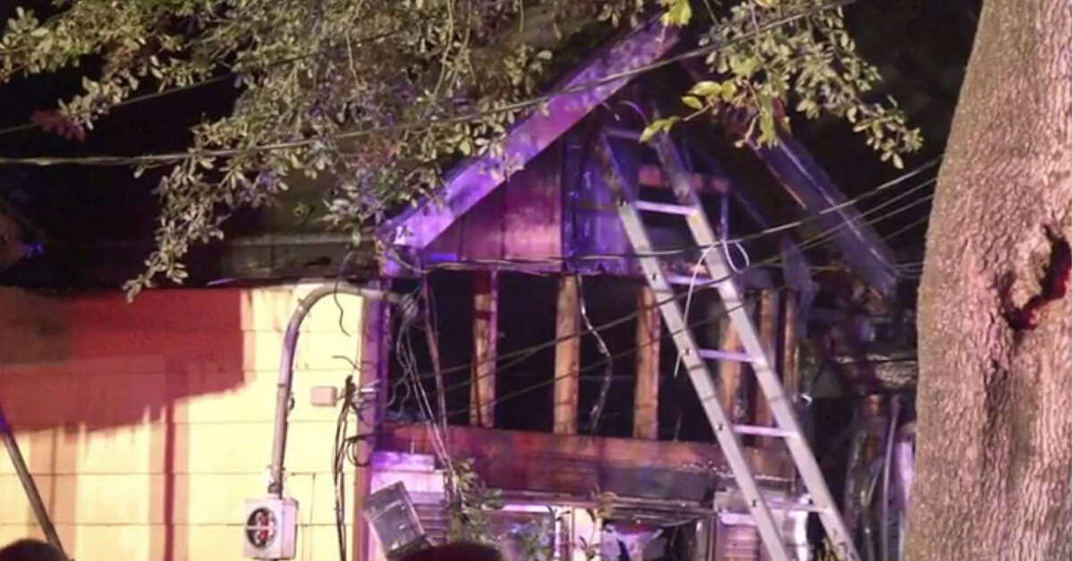A 17-year-old girl died and her mother was injured when fire swept through a home about 12:30 a.m. Saturday, Dec. 10, 2016, in Pasadena. (Metro Video)
