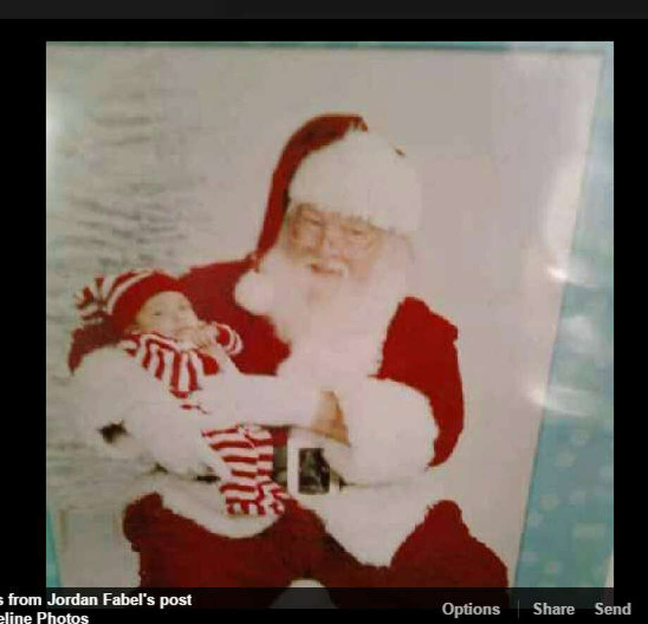 A Fort Worth, Texas, man has turned to Facebook to help his grandfather find a wedding ring he lost. Jordan Fabel's grandfather has played Santa Claus for years in the Dallas-Fort Worth area on Thursday, Dec. 8, 2016. Photo: Jordan Fabel/Facebook