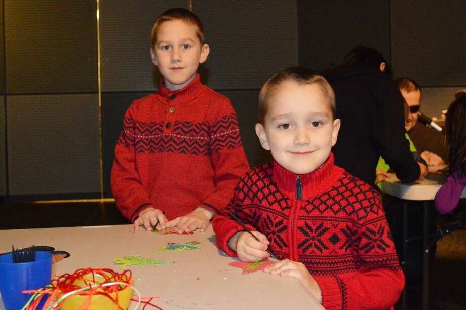 The North Pole came to Stepping Stones Museum for kids in Norwalk on December 10, 2016. Children enjoyed crafts, activities and a visit from Santa. Were you SEEN? Photo: Todd Tracy / Hearst CT Media