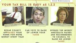 In the days leading up to his mayoral announcement, Ron Nirenberg has been targeted by a uniquely devious anti-tax mailer. The mail piece, which identifies the District 8 councilman as part of a big-taxing unholy trinity (along Bexar Chief Appraiser Michael Amezquita and City Manager Sheryl Sculley), falsely identifies itself as coming from Elena Villasenor, a 2016 judicial candidate who is a friend and supporter of Nirenberg. Villasenor is mortified by the mailer and said she plans to file a complaint with the Texas Ethics Commission.
