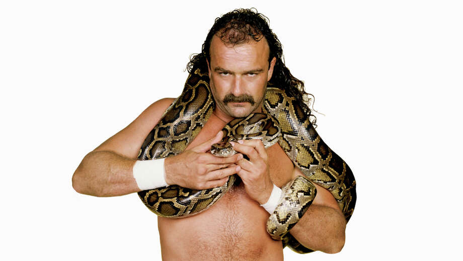 "Jake ""The Snake"" Roberts, pro wrestlerClaim to fame: Inducted into the WWE Hall of Fame in 2014 Photo: WWE"