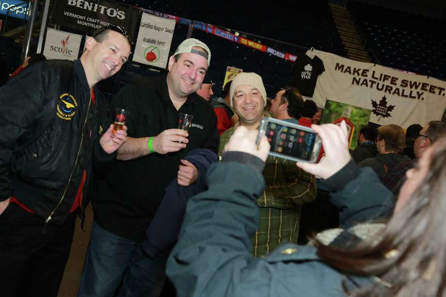 Local, national, and international breweries showcased their beers at the third annual Beer Conn festival at Webster Bank Arena in Bridgeport on December 10, 2016. Guests enjoyed beer samples and food. Were you SEEN? Photo: Derek T. Sterling / Connecticut Post