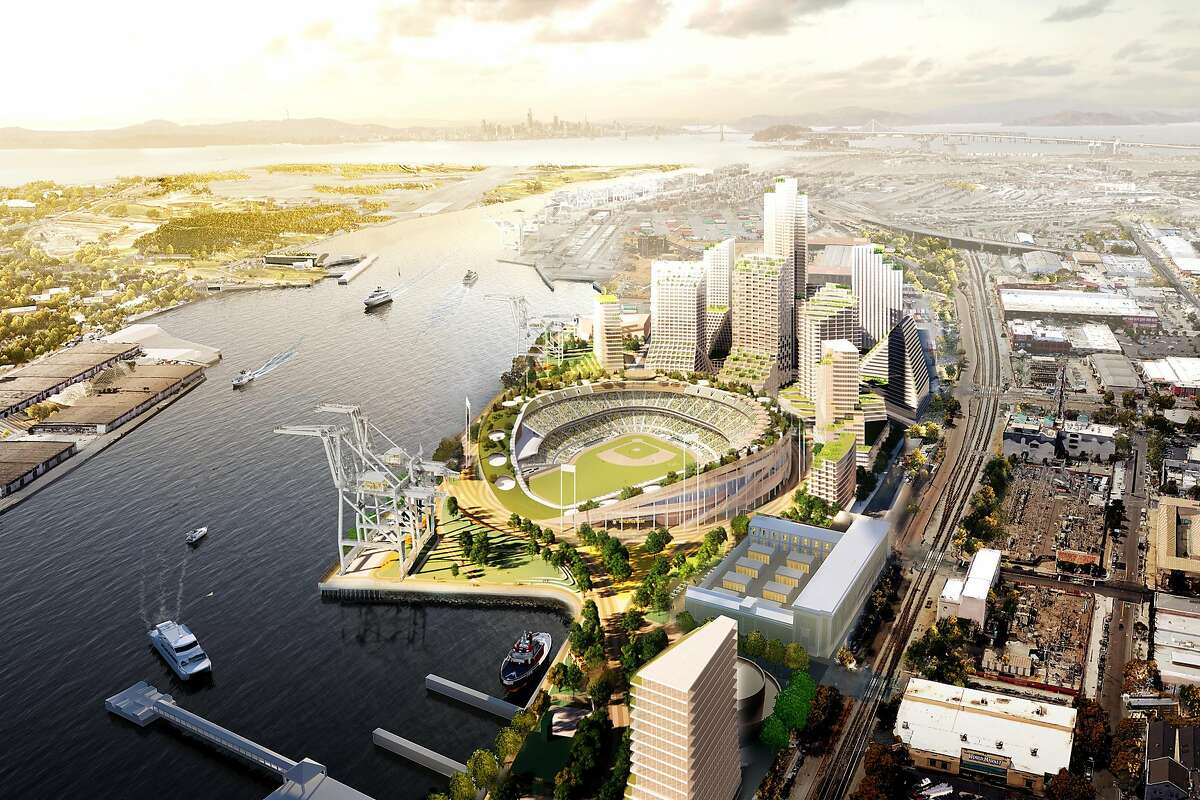 A's plan to build a new waterfront stadium at Oakland's Jack London Square takes big step forward