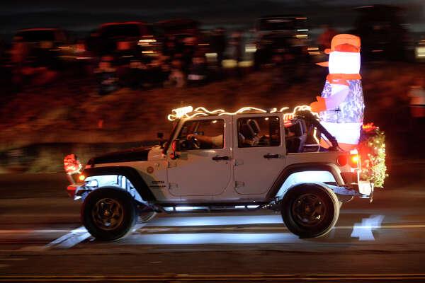 Rockin' Christmas parade on Saturday, Dec. 10, 2016. James Durbin/Reporter-Telegram