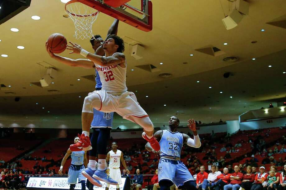 Uh Tops Rhode Island For Signature Win Houston Chronicle