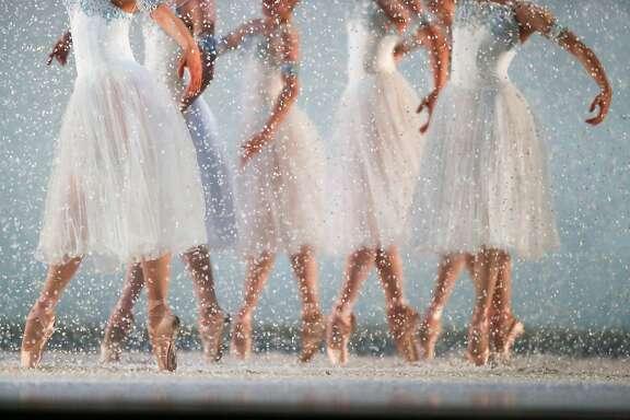 San Francisco's Ballet's Nutcracker runs through it's final dress rehearsal on Saturday, December 10, 2016 in San Francisco, Calif.