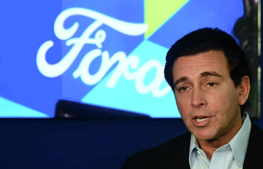 CEO Mark Fields said Ford's plan to move production of the Ford Focus from Michigan to Mexico will proceed despite President-elect Donald Trump's recent threats to impose tariffs on companies that move work abroad. Photo: Frederic J. Brown /AFP /Getty Images / AFP or licensors