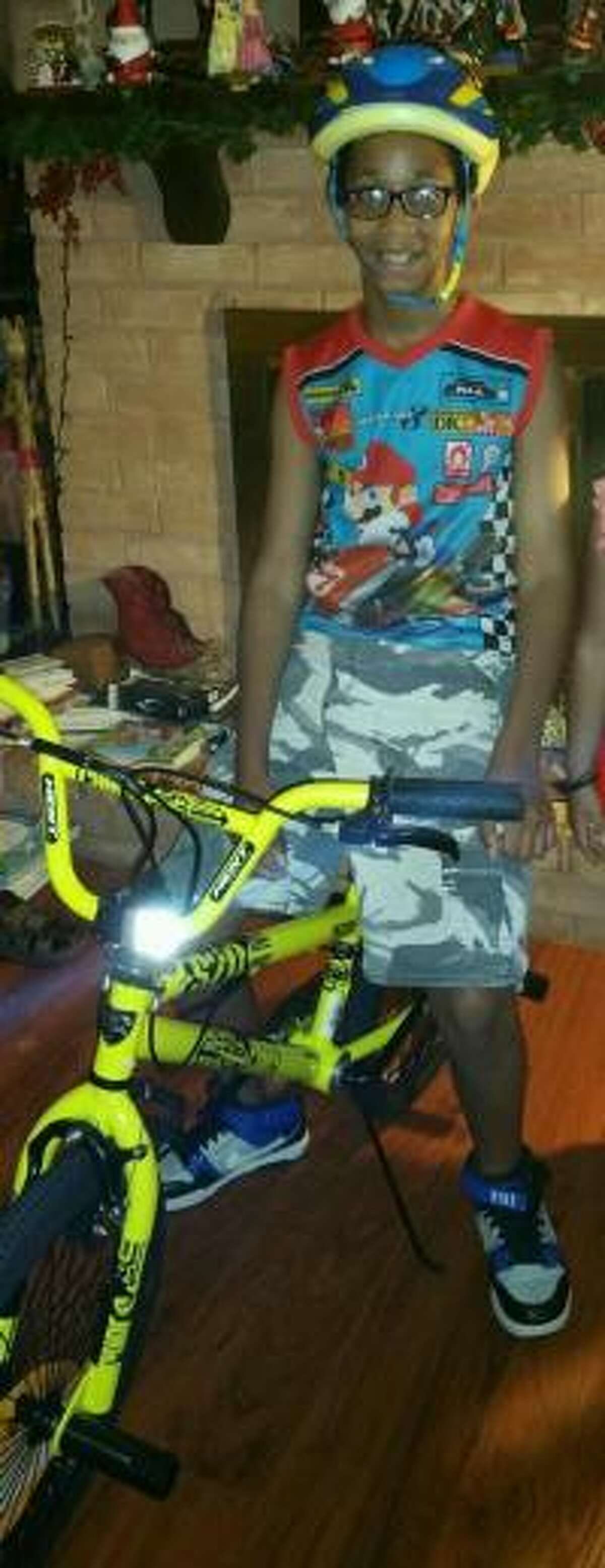 Friendswood police are searching for an 11-year-old boy named Kenneth, who went missing from the Forest Bend subdivision on Saturday, Dec. 10, 2016. Police believe Kenneth may have been spotted by people who attended the Friendswood holiday parade.