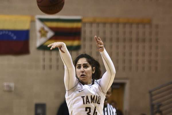 TAMIU's Nayiri Aslanian scored eight points on Saturday. The Dustdevils have now lost five games in a row.