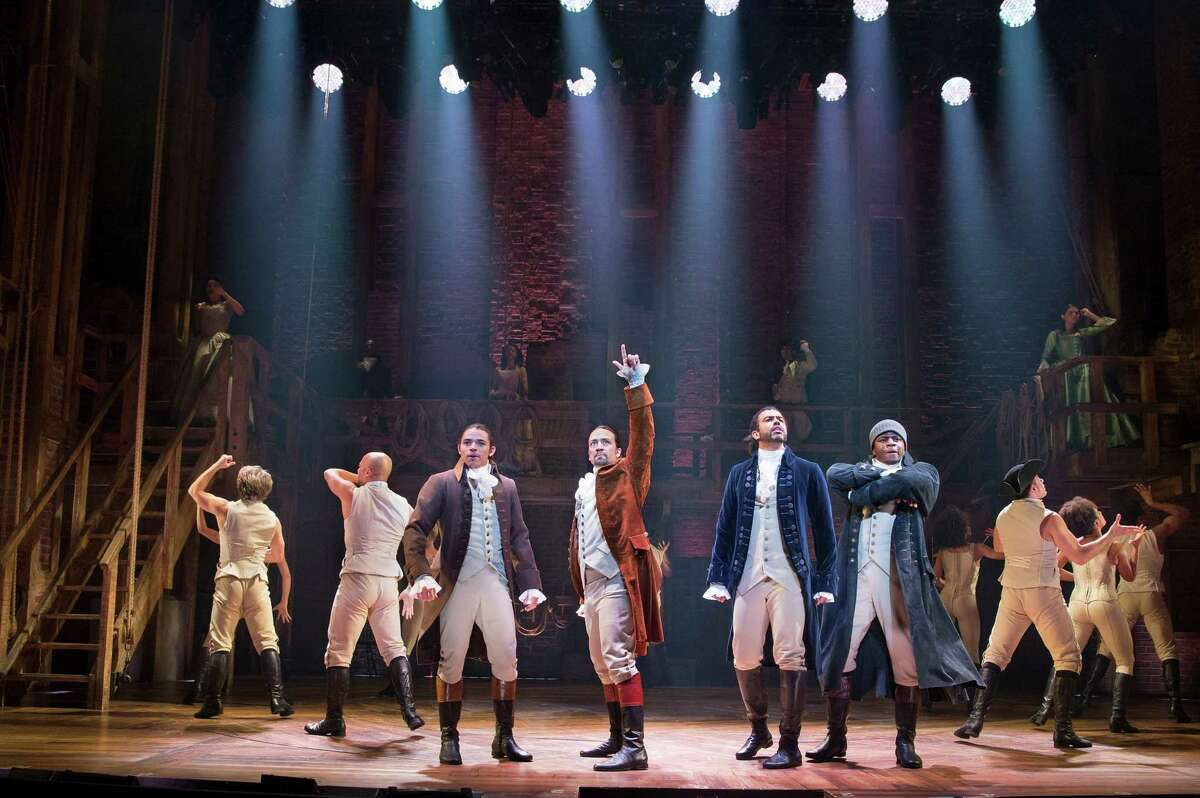 """Â?""""Hamilton,Â?"""" the groundbreaking hip-hop musical about the nationÂ?'s Founding Fathers, was nominated for 16 Tony Awards, the most in Broadway history. (Sara Krulwich/The New York Times)"""