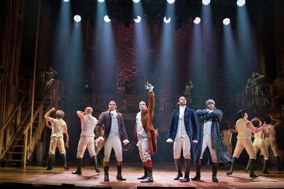 """Hamilton,"" the groundbreaking hip-hop musical about the nation's Founding Fathers, was nominated for 16 Tony Awards, the most in Broadway history. (Sara Krulwich/The New York Times)"