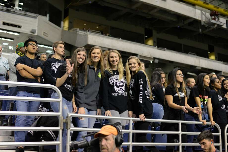 Fans cheered on the Steele Knights Saturday, Dec. 10, 2016, sending them to the state title game. Photo: Kody Melton, For MySA.com
