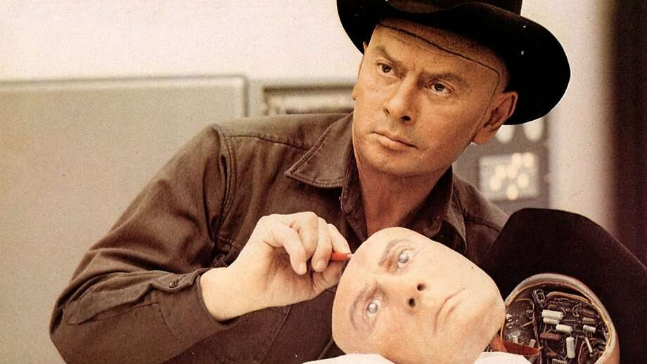 "Yul Brynner in Michael Crichton's ""Westworld"" (1973). Photo: MGM 1973"