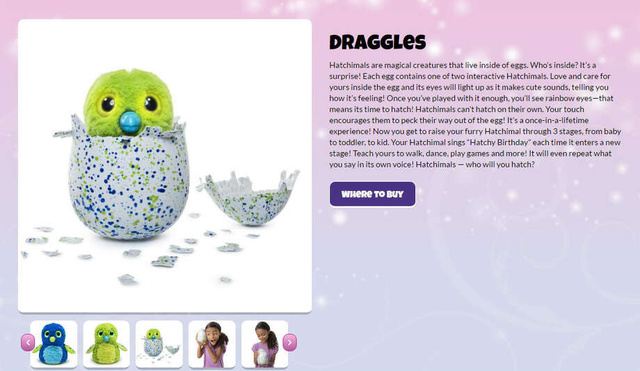 5985df4f0bd Houston-area Hatchimals hunters line up for latest holiday toy fad ...