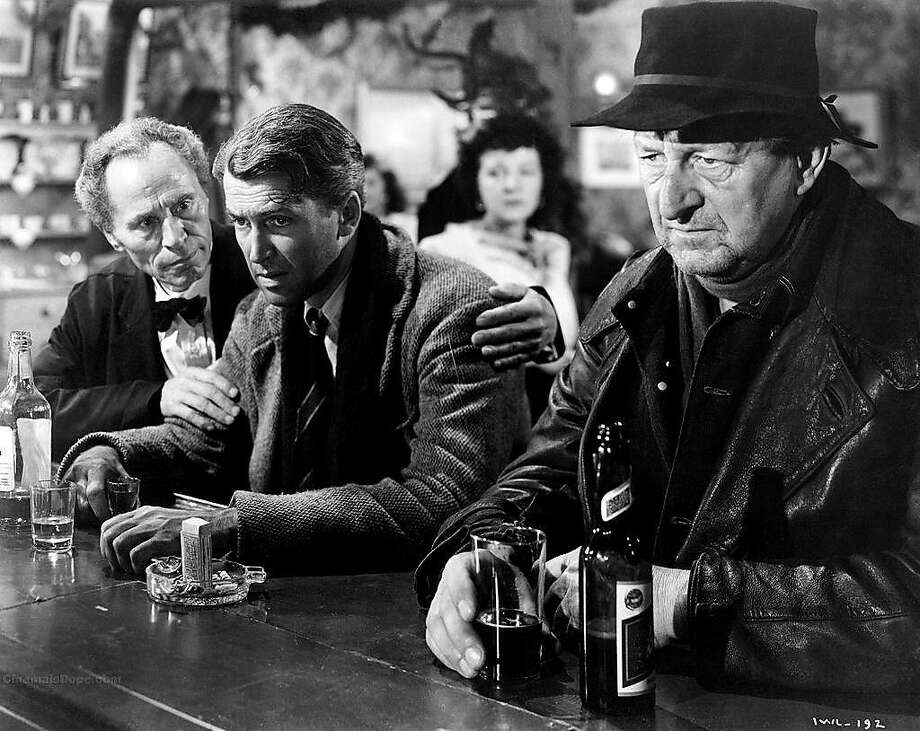"""James Stewart (center) stars in the feel-good holiday favorite """"It's a Wonderful Life."""" Photo: Contributed Photo, ST"""