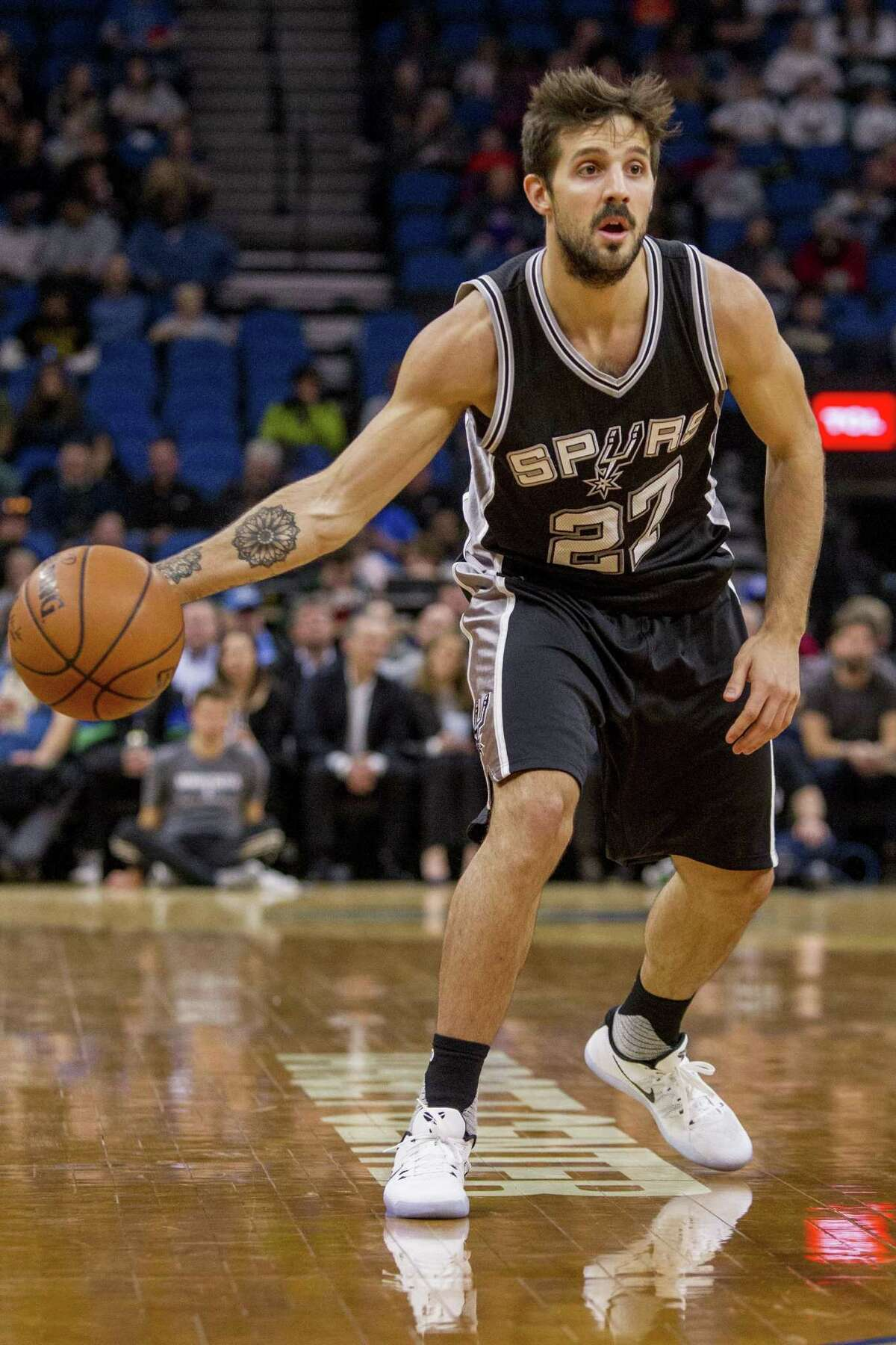 15. Nicolas Laprovittola  Laprovittola made the Spurs' roster out of training camp and actually started three games before being waived at the end of December. He appeared in 18 contests, averaging 3.3 points and 1.6 assists.