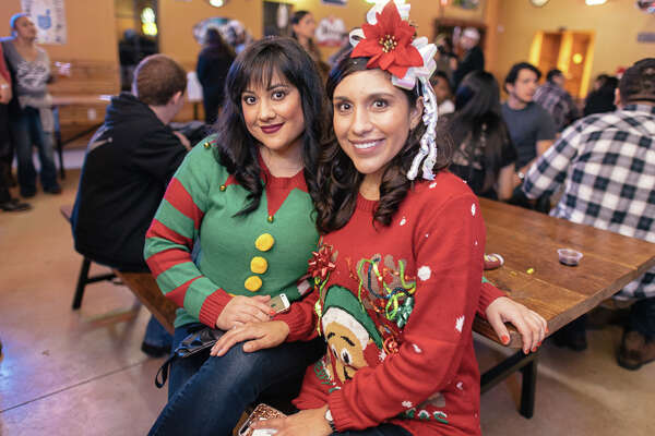 San Antonio donned some quirky fashions as The Well hosted an ugly sweater party on Saturday, Dec. 10, 2016 to raise funds for Rally for Rowan. Rowan, a 10-year-old boy, was diagnosed with a rare disorder called Shwachman-Diamond Syndrome.