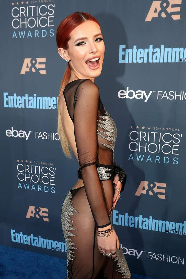 Actress Bella Thorne Photo: Christopher Polk, Getty Images For The Critics' Choice Awards