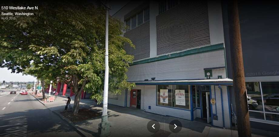 South Lake Union's The Wurst Place is set to close in February, roughly five years after opening its doors. A new, 12-story office building is planned in its place. Photo: Google Street View