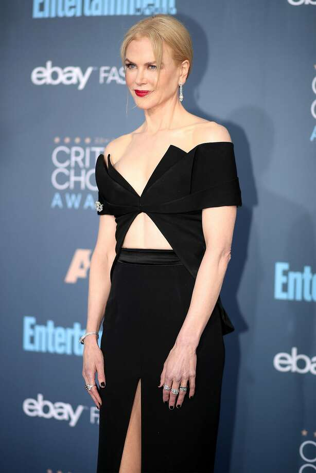 SANTA MONICA, CA - DECEMBER 11:  Actress Nicole Kidman attends The 22nd Annual Critics' Choice Awards at Barker Hangar on December 11, 2016 in Santa Monica, California.  (Photo by Christopher Polk/Getty Images for The Critics' Choice Awards ) Photo: Christopher Polk, Getty Images For The Critics' Choice Awards