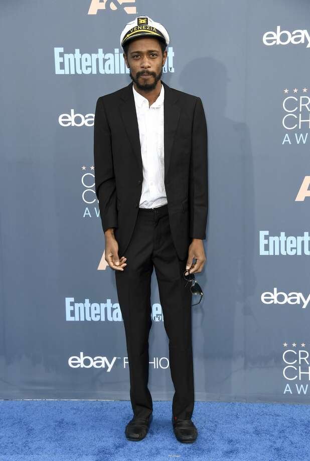 """Before an acceptance speech could even be given for the Best Comedy Series to HBO's """"Silicon Valley,"""" Atlanta star Keith Stanfield rushed the stage with a few choice words of his own.Continue clicking to see the other stars at the awards show. Photo: Frazer Harrison/Getty Images"""