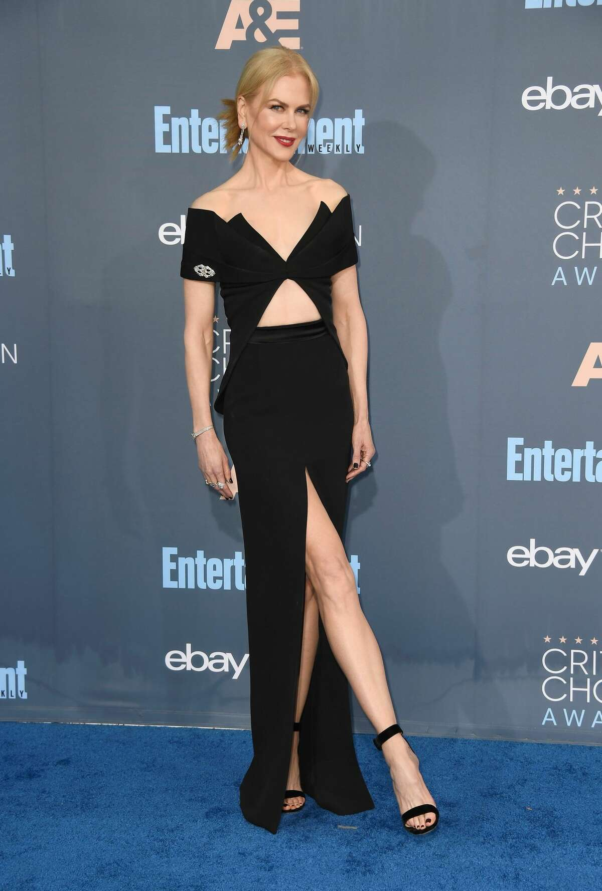 Best: This gown kind of makes Nicole Kidman looks like Bat Woman.