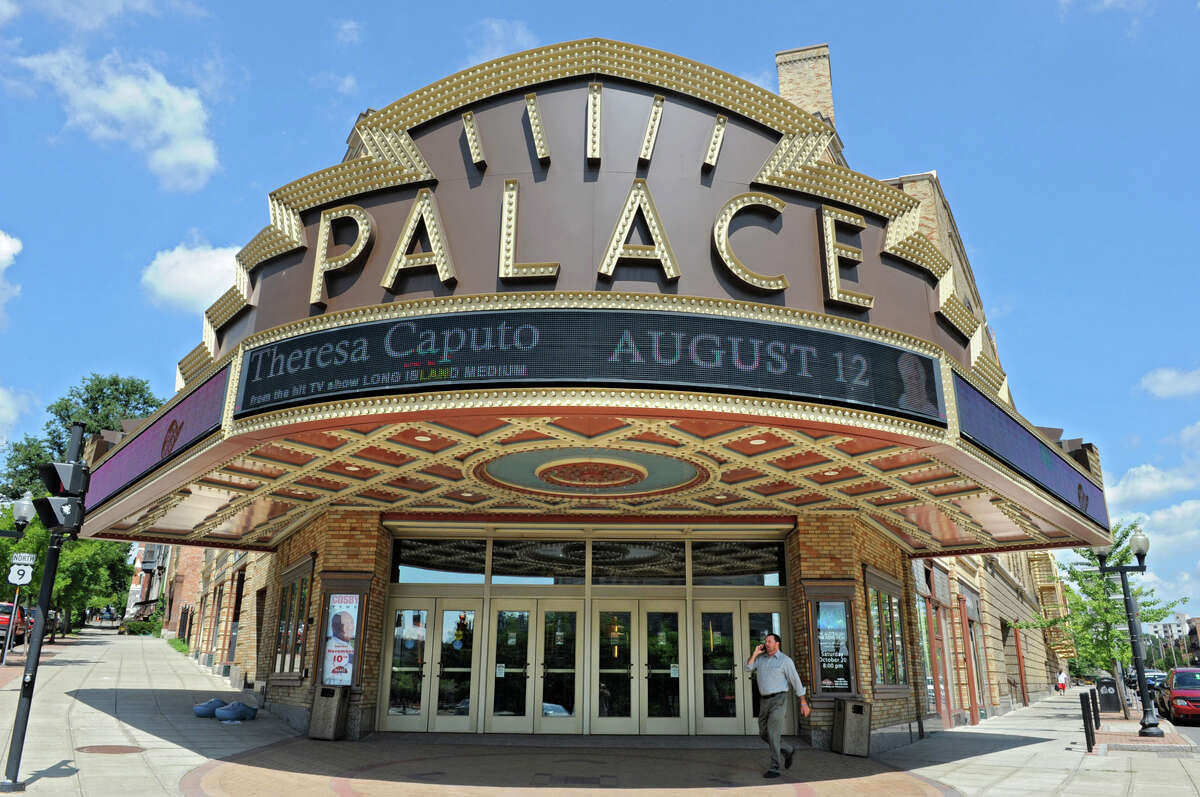 Exterior of the Palace Theatre in Albany. (Lori Van Buren / Times Union)