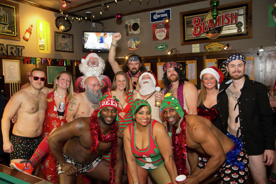Were You Seen at the 11th Annual Santa Speedo Sprint on Lark Street in Albany on Saturday, December 10, 2016?Proceeds of the event benefit the Albany Damien Center and the HIV/AIDS program at Albany Medical Center. Photo: Brian Tromans