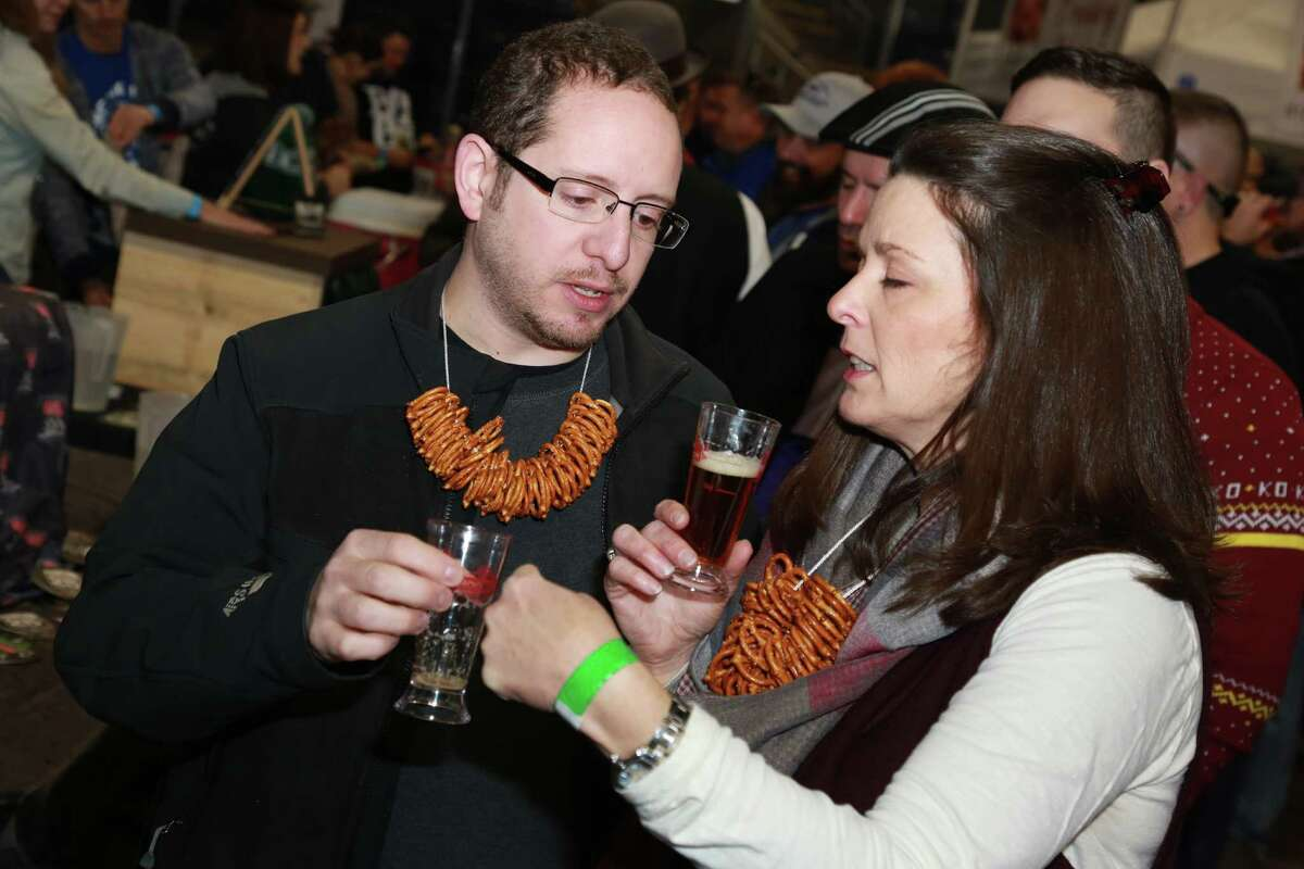 Local, national, and international breweries showcased their beers at the third annual Beer Conn festival at Webster Bank Arena in Bridgeport on December 10, 2016. Guests enjoyed beer samples and food. Were you SEEN?