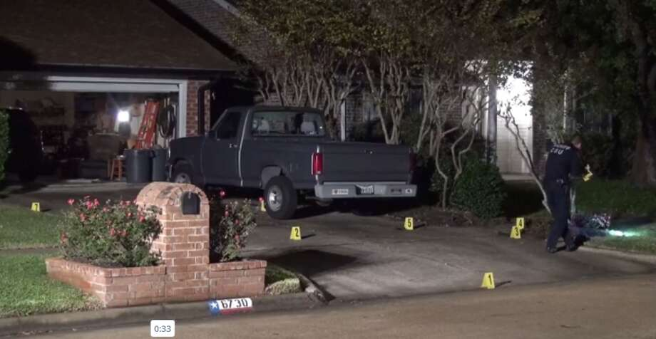 A homeowner was wounded in a shootout with would-be robbers. Photo: Metro Video