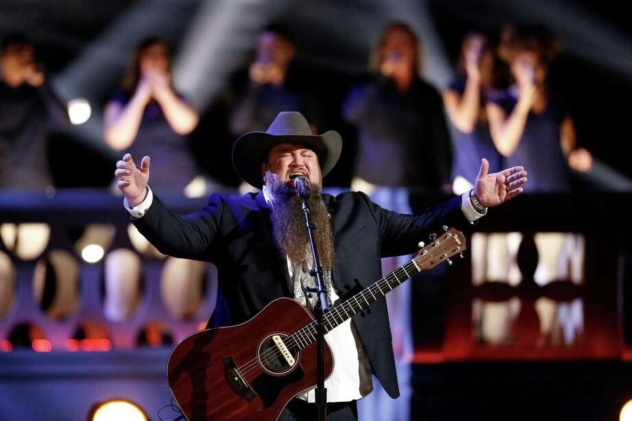 "Singer Sundance Head during the semifinals of ""The Voice."" Photo: Tyler Golden/NBC / 2016 NBCUniversal Media, LLC"