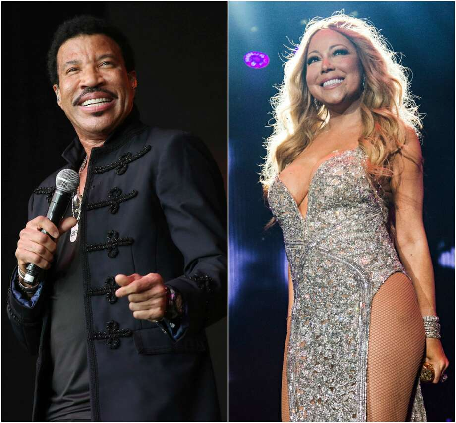 Lionel Richie and Mariah Carey are hitting the road.