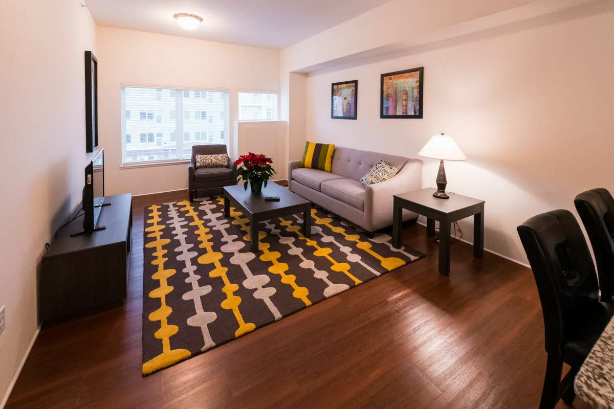 Tour of Brooks Estates, new big luxury apartments at Swede and Eastlawn during their open house this past weekend.