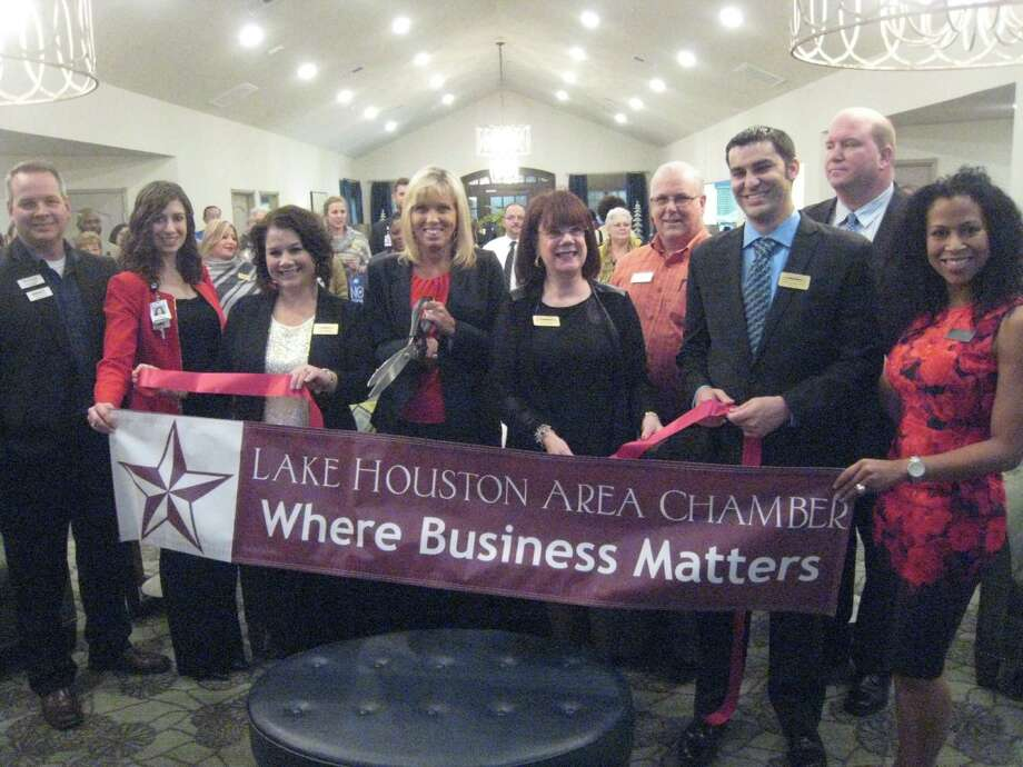 Fall Creek Rehabilitation and Healthcare center celebrated its grand opening with the Lake Houston Area Chamber of Commerce on Thursday, Dec. 8. Photo: Jennifer Summer