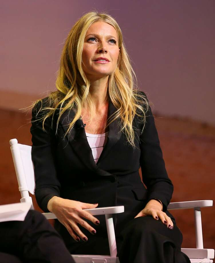 Gwyneth Paltrow, actress & founder of Goop, speaks onstage at the 3rd Annual Airbnb Open Spotlight at the Los Angeles Theatre on November 19, 2016 in Los Angeles, California. Paltrow was seen at various local restaurants in Marin over the weekend. Photo: JB Lacroix/WireImage