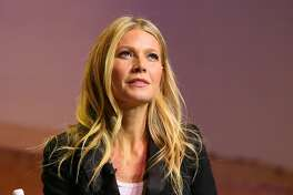 LOS ANGELES, CA - NOVEMBER 19: Gwyneth Paltrow, actress & founder of Goop, speaks onstage at the 3rd Annual Airbnb Open Spotlight at the Los Angeles Theatre on November 19, 2016 in Los Angeles, California.  (Photo by JB Lacroix/WireImage)
