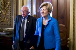 Elizabeth Warren endorsed Bernie Sanders In late February, a webpage pretending to be the New York Times published a fake story about Elizabeth Warren endorsing Bernie Sanders.