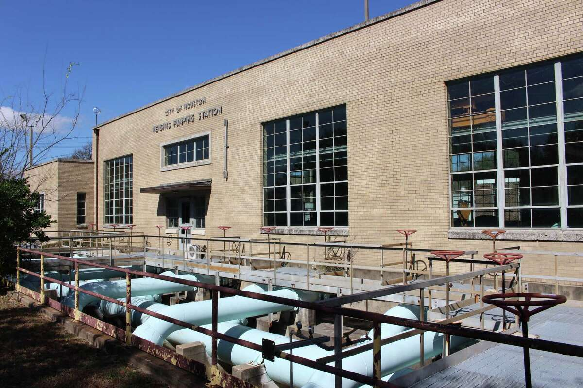 The city of Houston is selling its Heights pumping station property that dates back to 1928. KEEP CLICKING TO SEE MORE PHOTOS OF HISTORIC BUILDINGS IN THE HEIGHTS