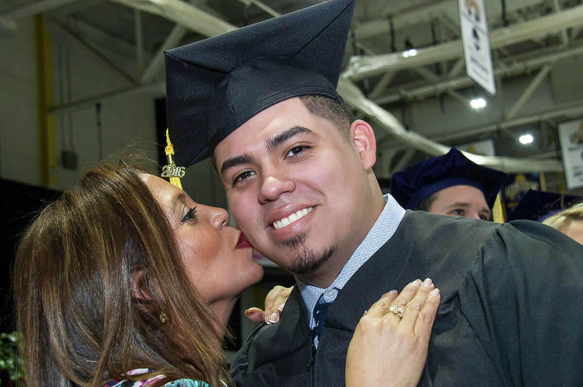 Were you Seen at the UAlbany commencement ceremony held at SEFCU Arena in Albany on Sunday, Dec. 11, 2016?