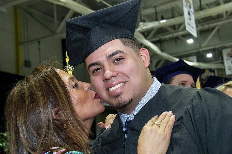 Were you Seen at the UAlbany commencement ceremony held at SEFCU Arena in Albany on Sunday, Dec. 11, 2016? Photo: Mark Schmidt